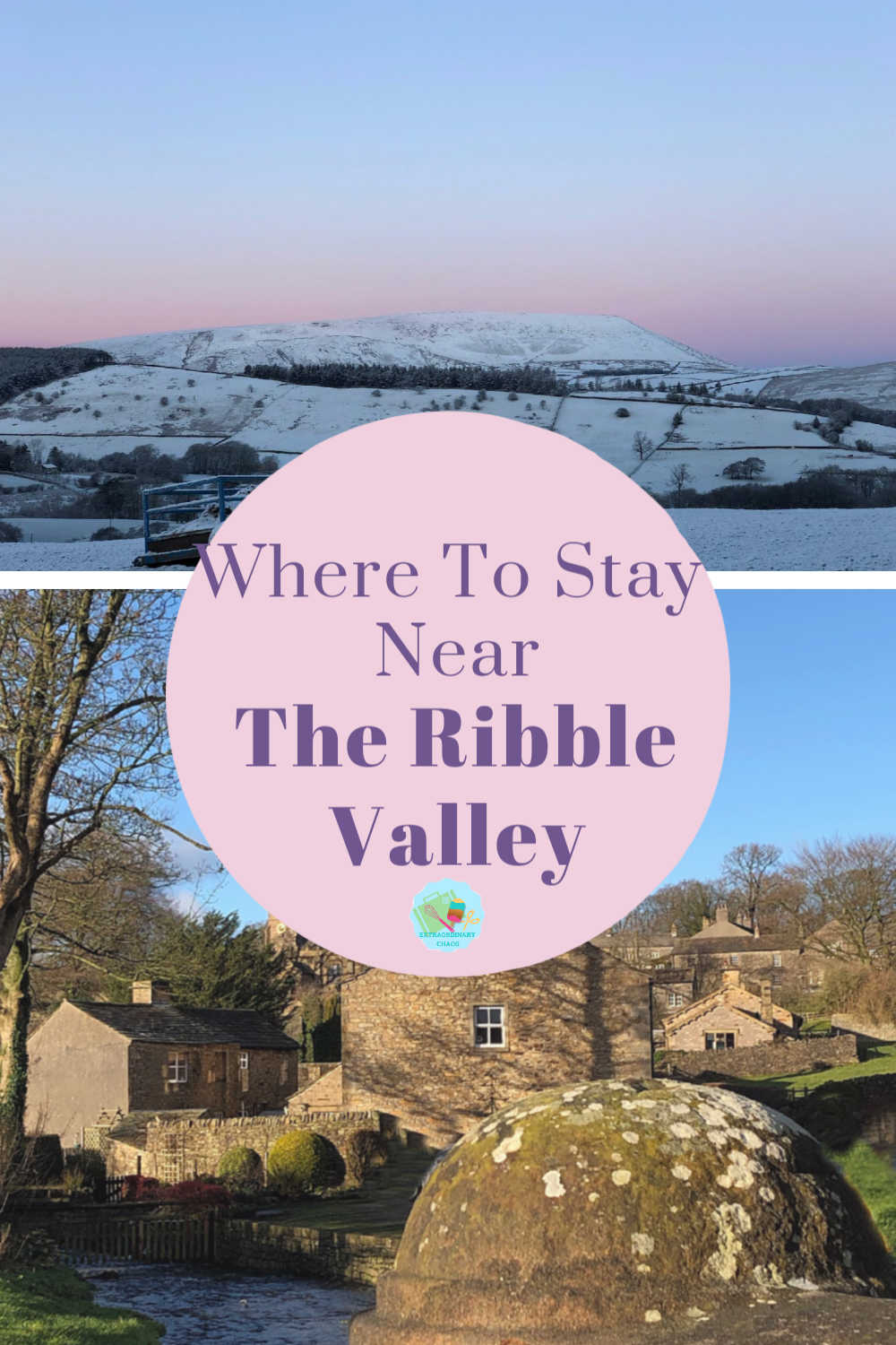 Cottages for holidays in the Ribble Valley