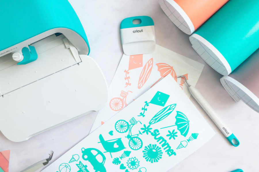 How To Make Cricut Joy Vinyl Stickers