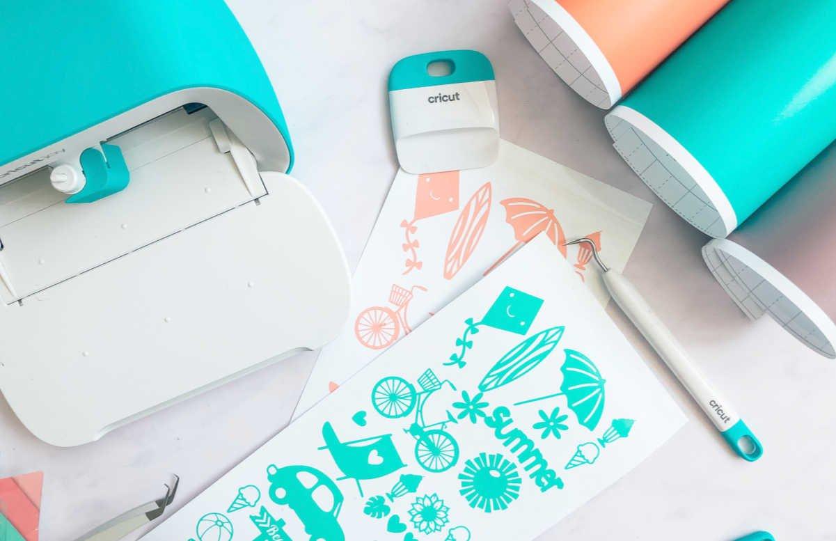 How To Make Cricut Joy Vinyl Stickers