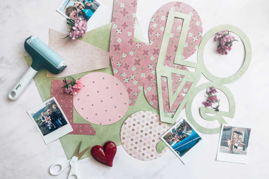 How to make a word cut file with Cricut Design Space