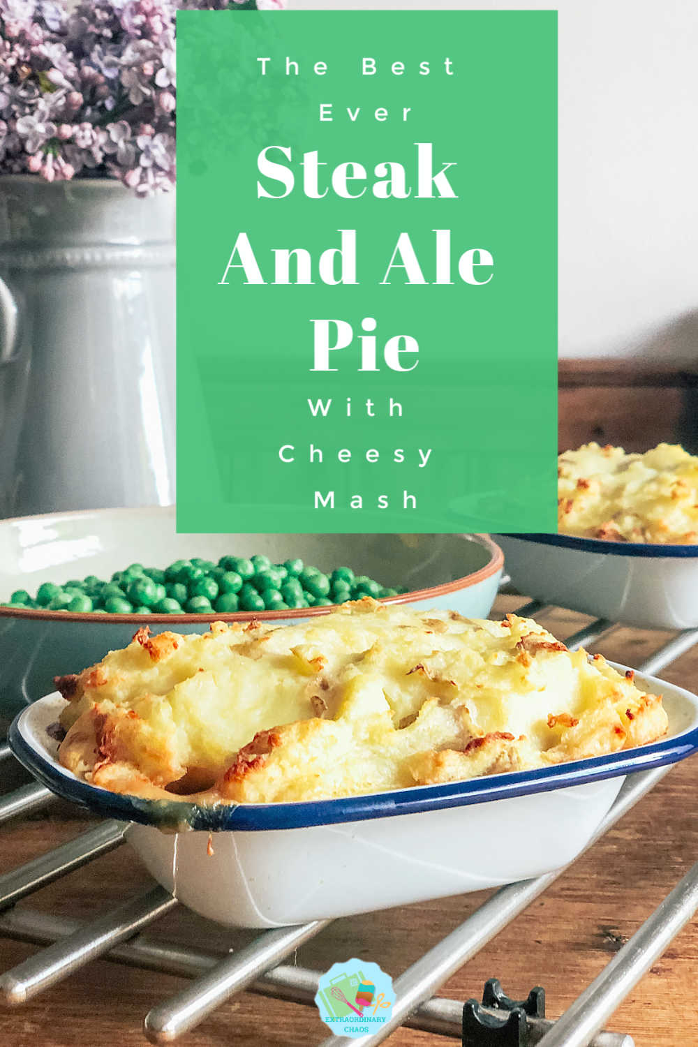 How to make slow cooker steak and ale pie with cheesy mash