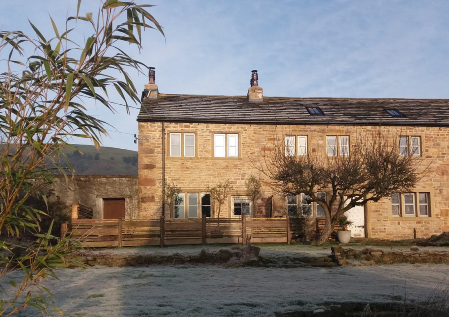 Middlewood Farm Cottage Is Nestled In A Secluded  Roughlee Location in the Ribble Valley