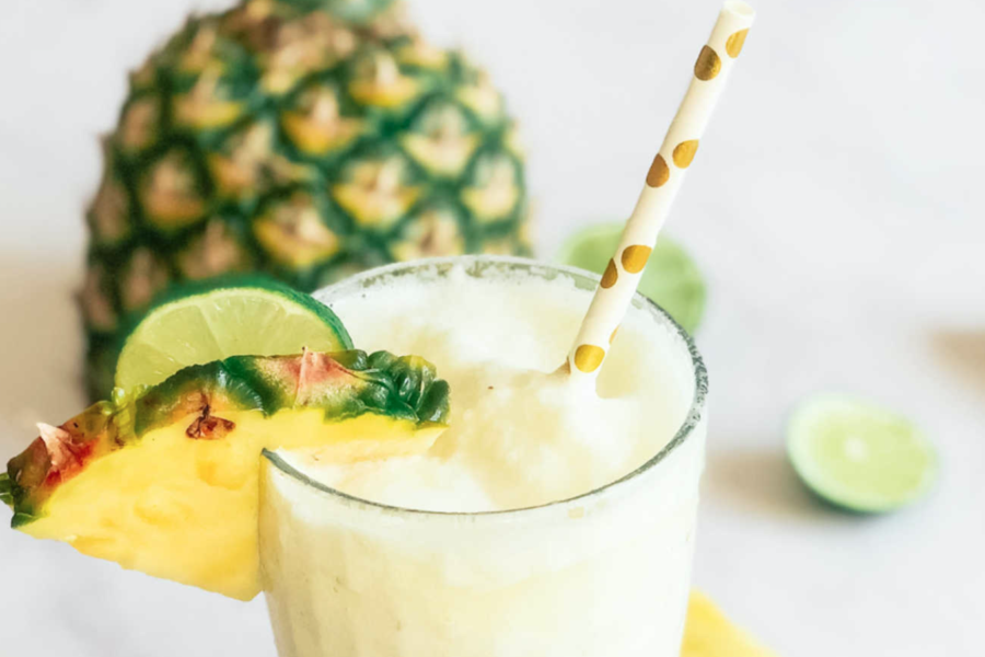 How to make the perfect low fat Pina colada