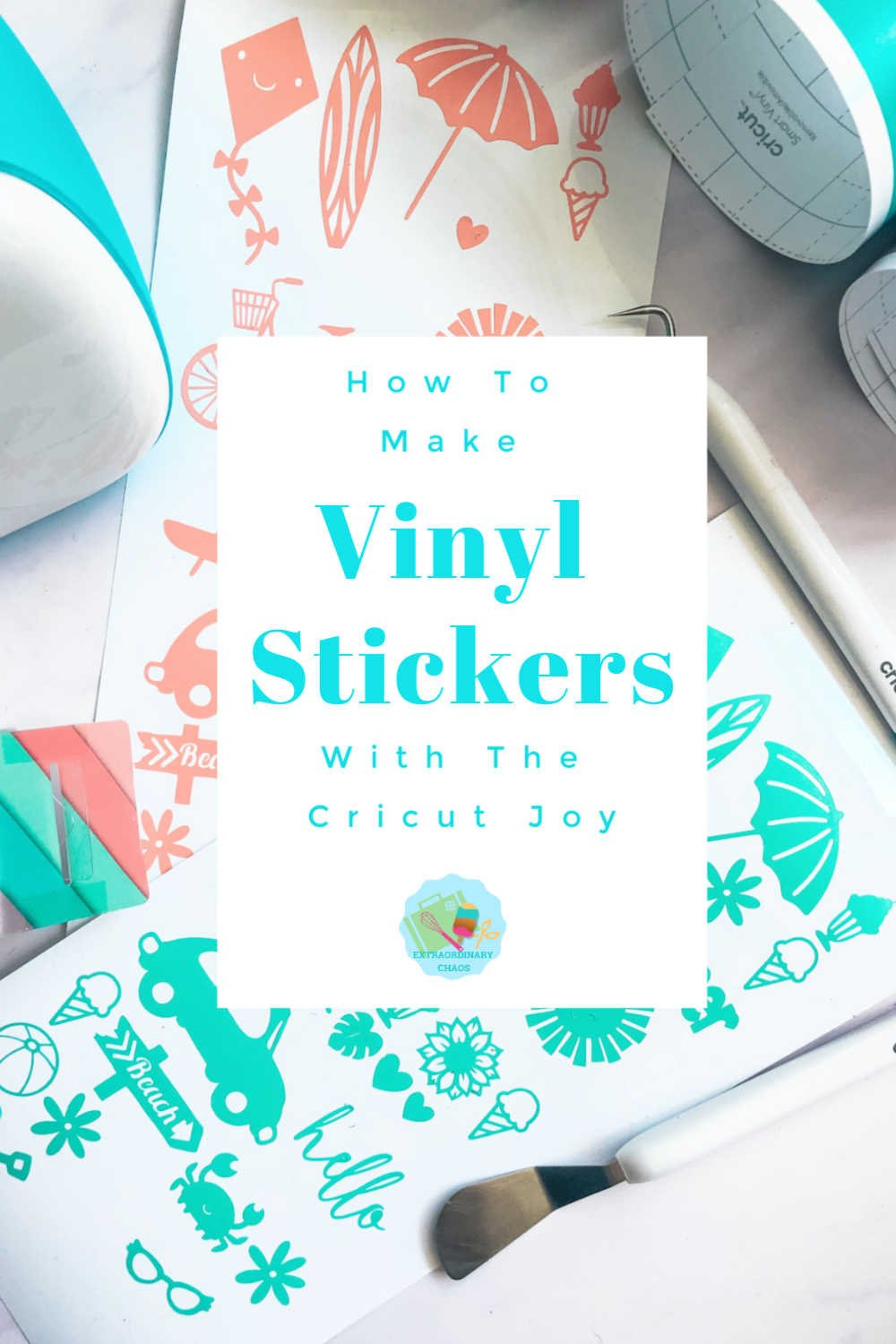 How To Make Cricut Vinyl Stickers, these can be made to sell for crafts and  parties or used for scrapbooking and school work