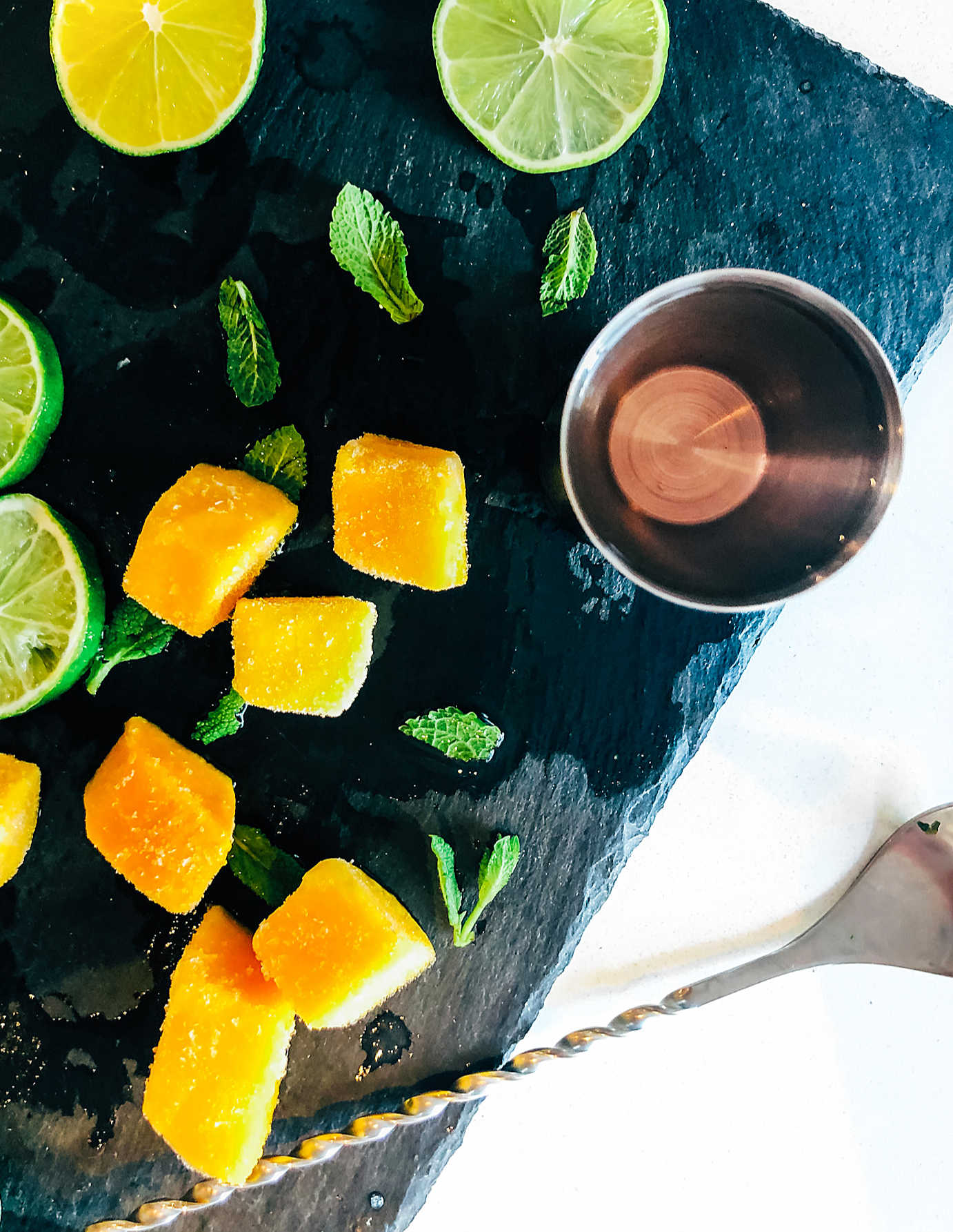 what you will need for this Frozen Mango And Vodka Cocktail