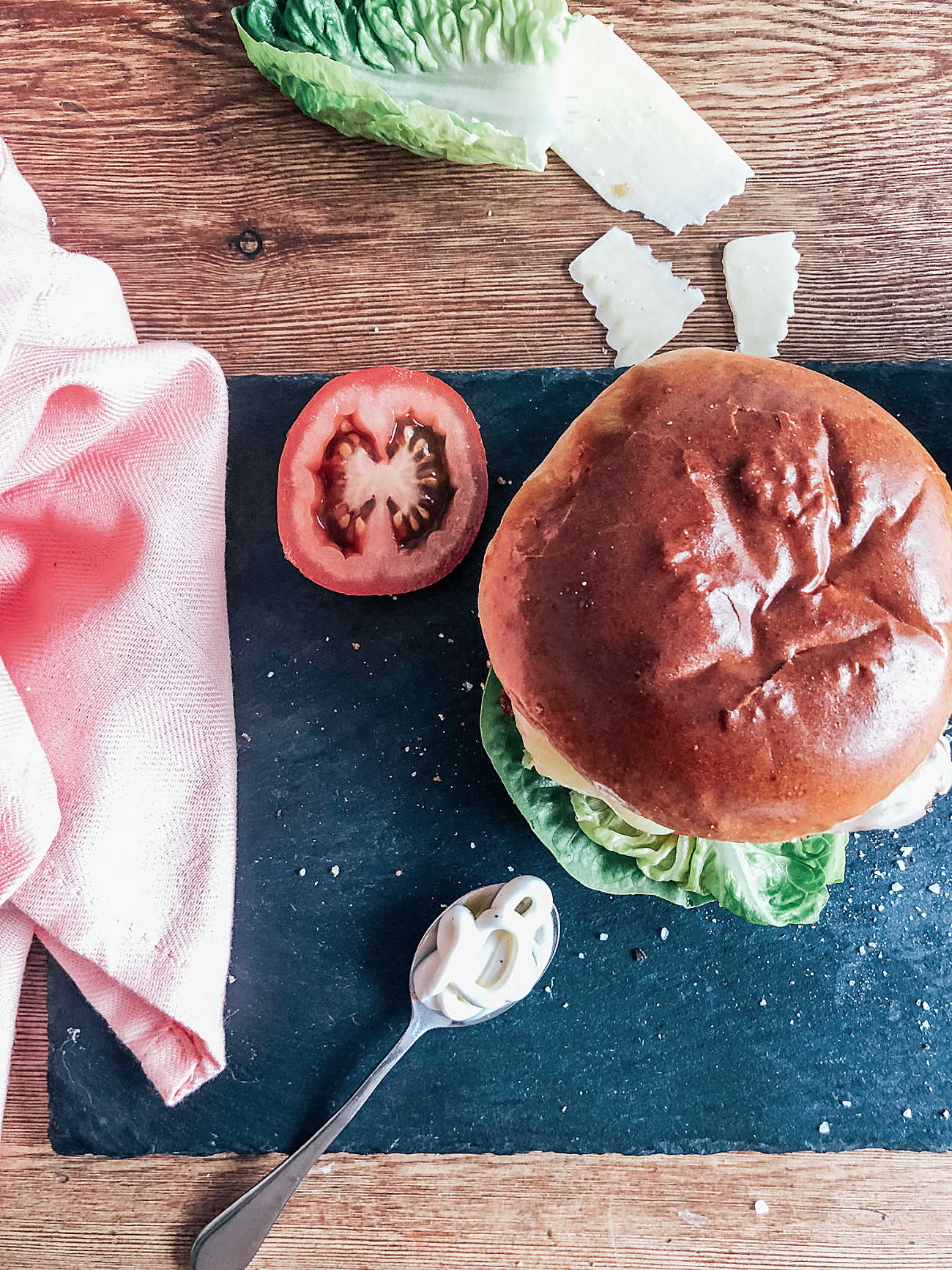 How to  make a home made Nando's Grilled Chicken Burger
