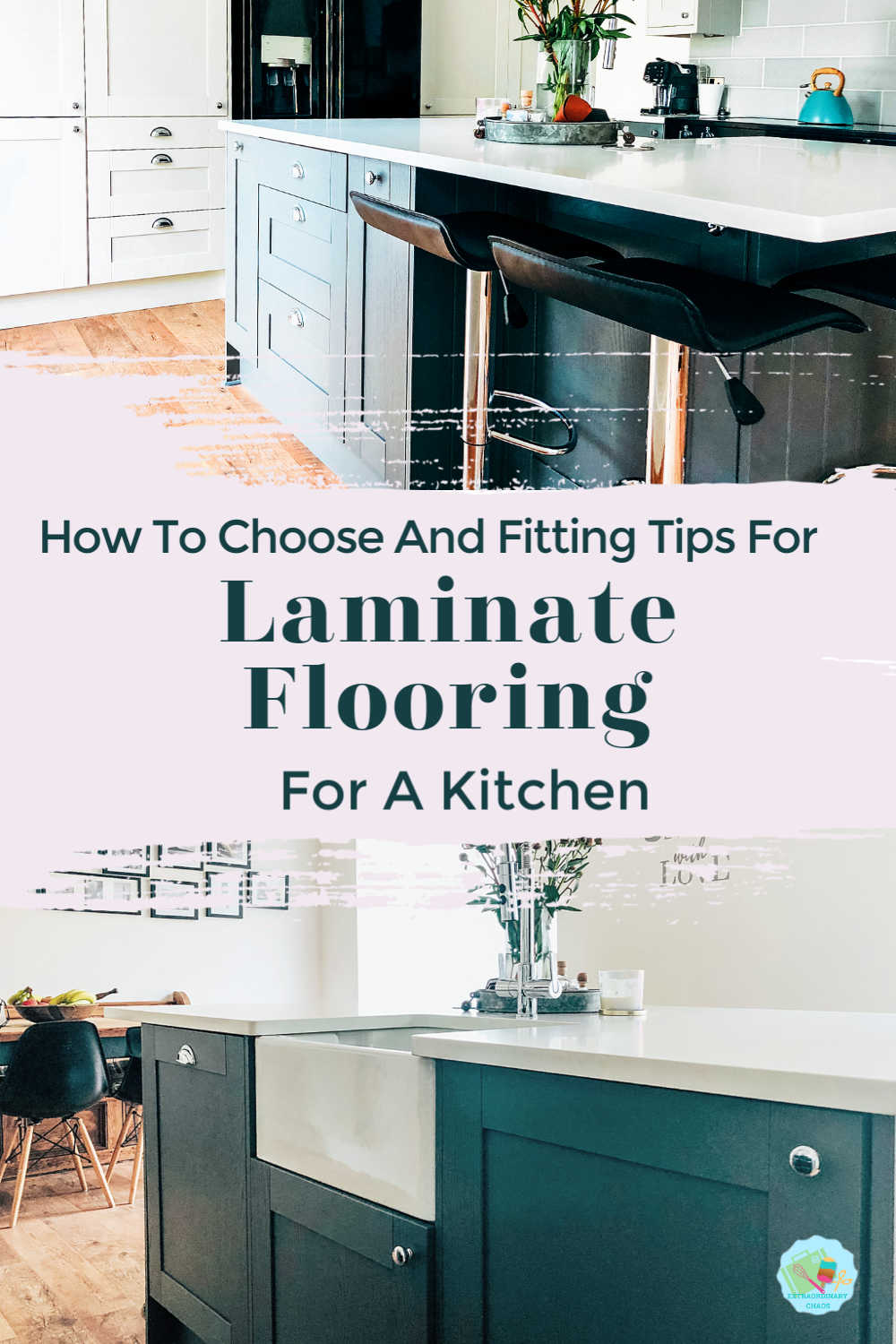 How to choose wood effect laminate flooring for a kitchen and is it a practical kitchen floor option for families with kids and pets