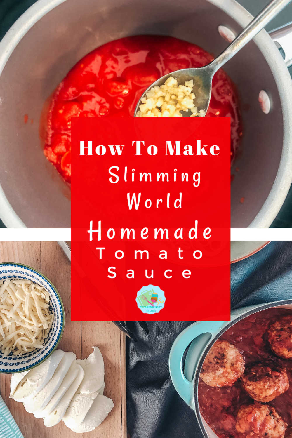 How to make a quick and easy slimming world Italian Tomato Sauce, perfect for making in batch and freezing which makes midweek meals so easy.
