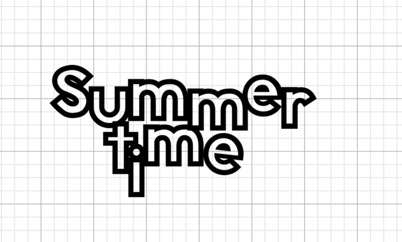 How to make a scrapbook digital file template and summer titles ideas