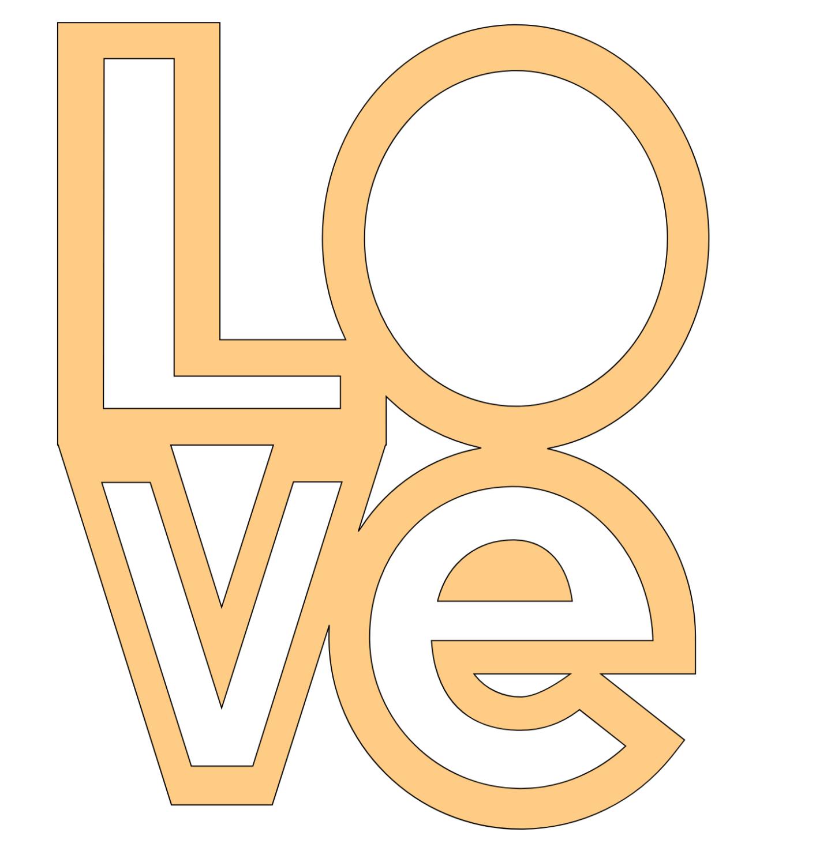 Free love scrapbooking word template file