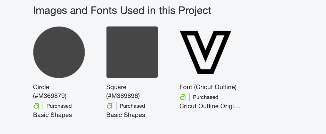 Cricut Text that can be used to create a scrapbooking word file