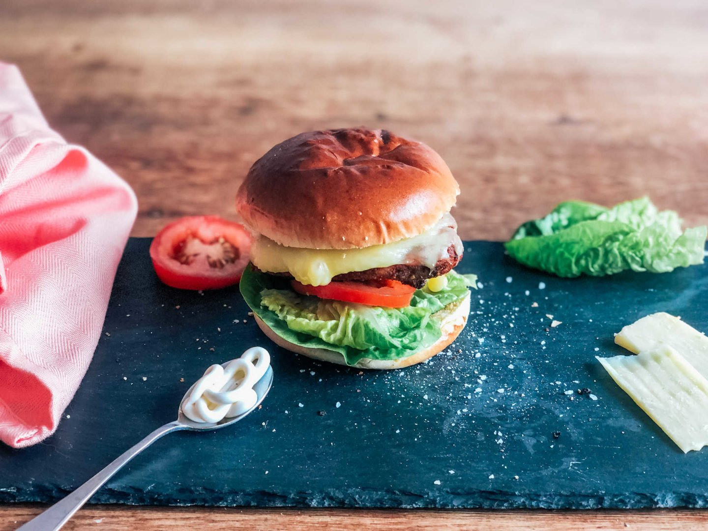 how to make a. Nando's Grilled Chicken Burger at home