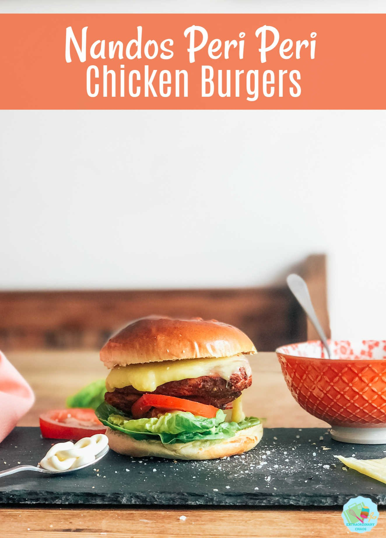 How to make an easy Nando's Peri Peri Chicken Burger at home