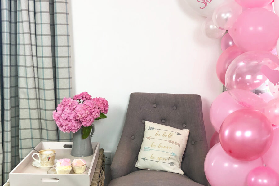 Hoe to make a Baby shower Ballon Arch-3