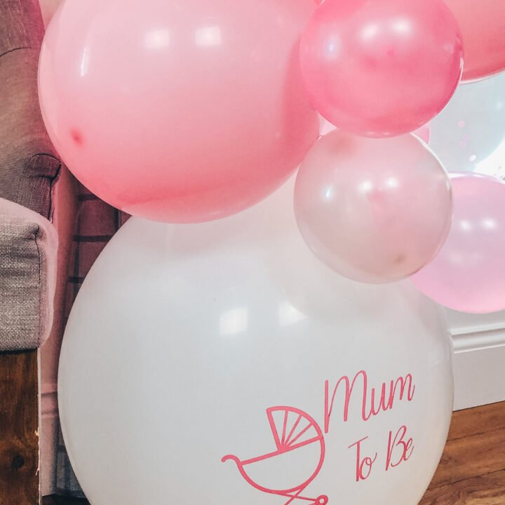 How to make Baby shower Balloons With Cricut