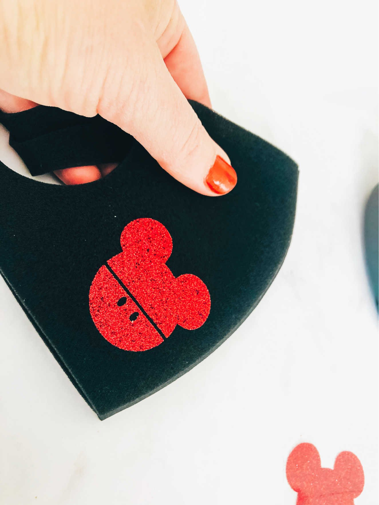 Free Mickey Mouse Cricut Mask Template