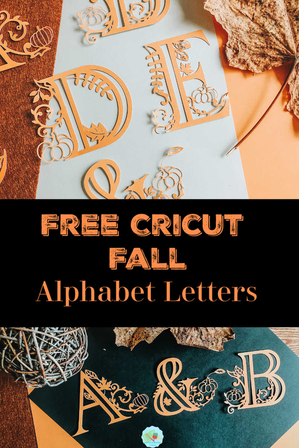 Free Templates for Cricut Fall Alphabet Letters