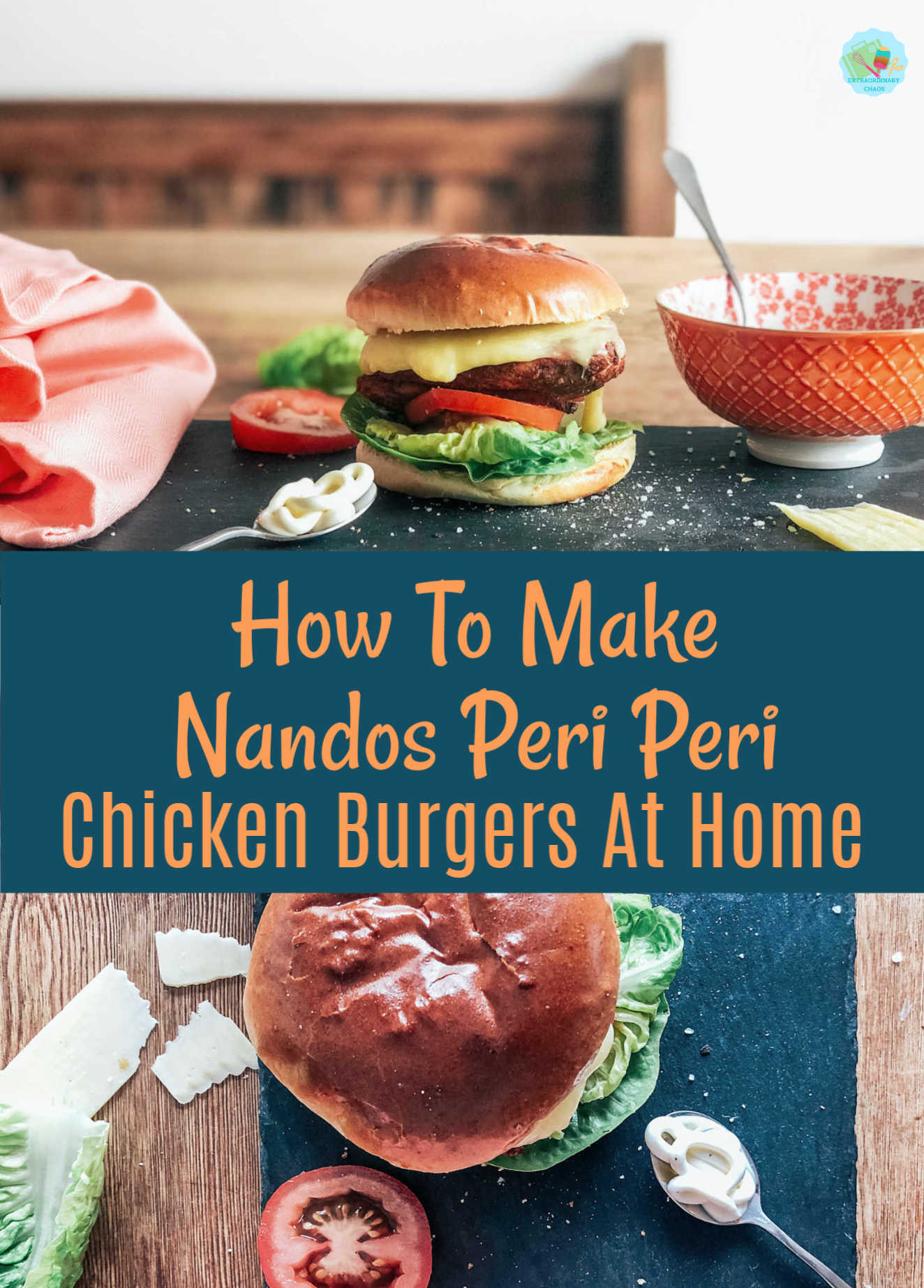 How To Make Nandos Peri Peri Chicken Burgers At Home