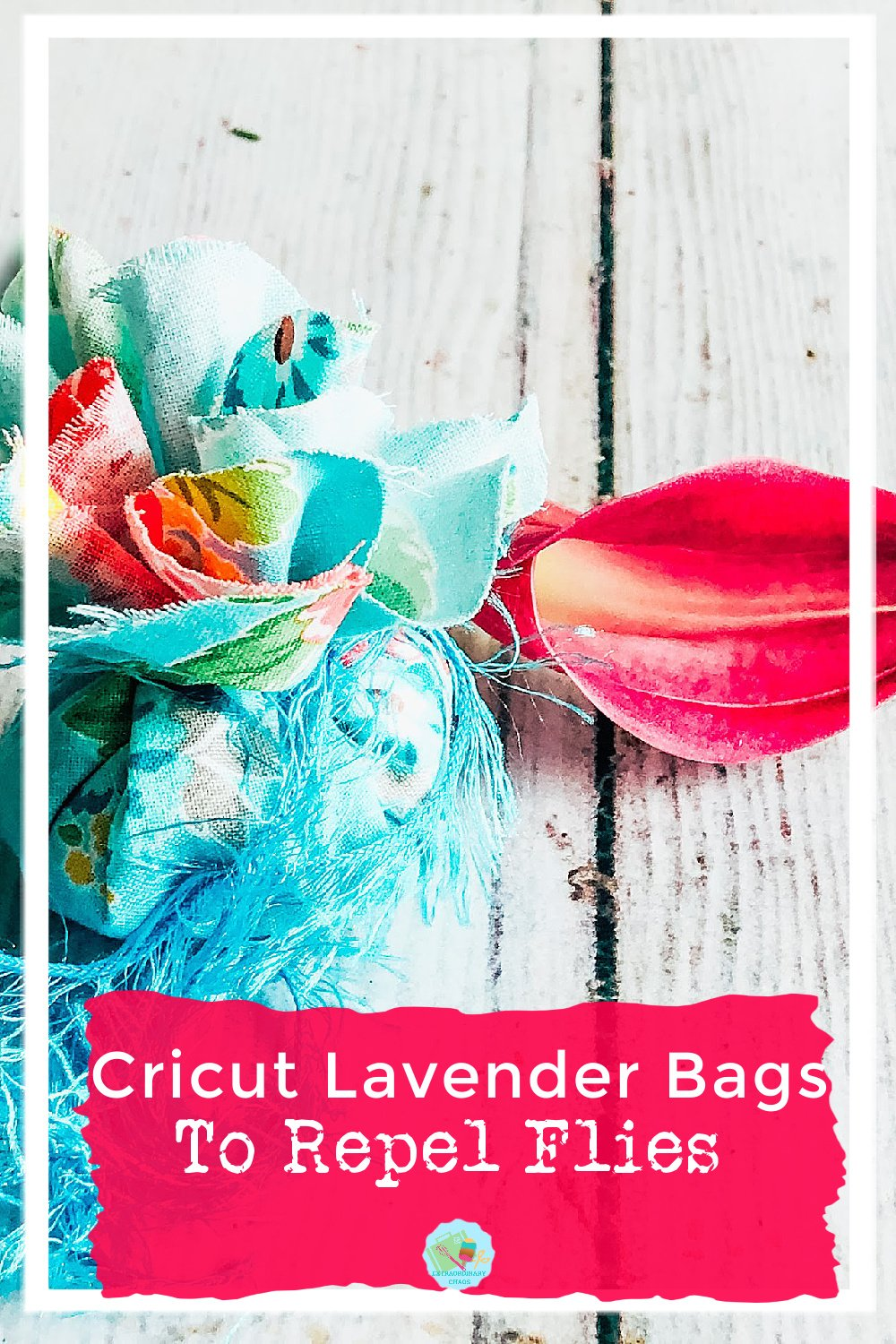 How to make Homemade Lavender Bags To Repel Flies with Cricut