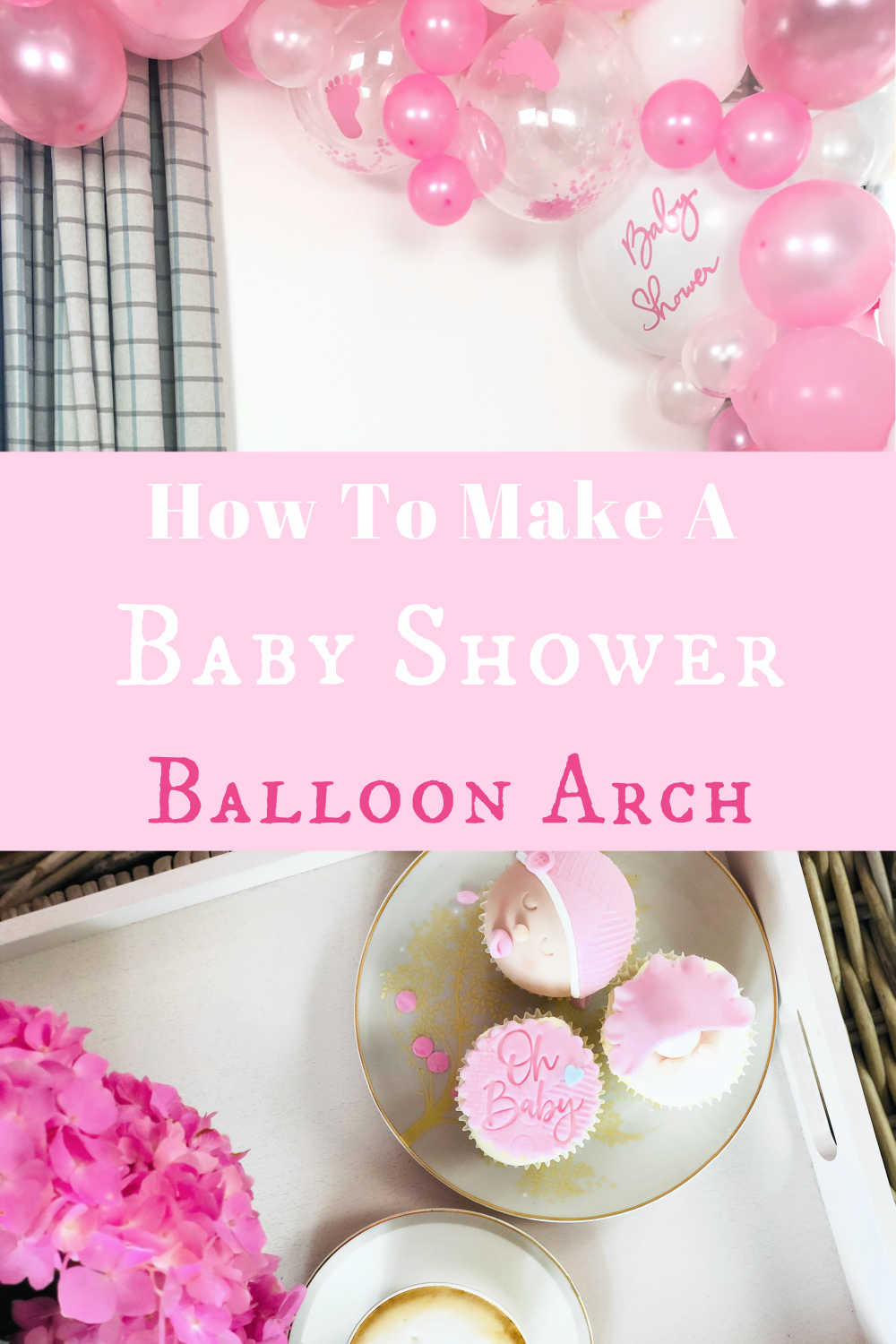 How to make a Baby Shower Balloon Arch