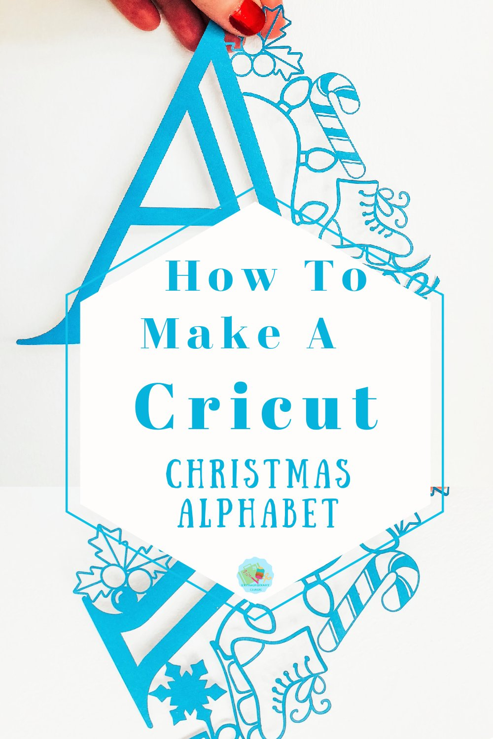 How to make a Cricut Christmas Alphabet in Cricut Design Space