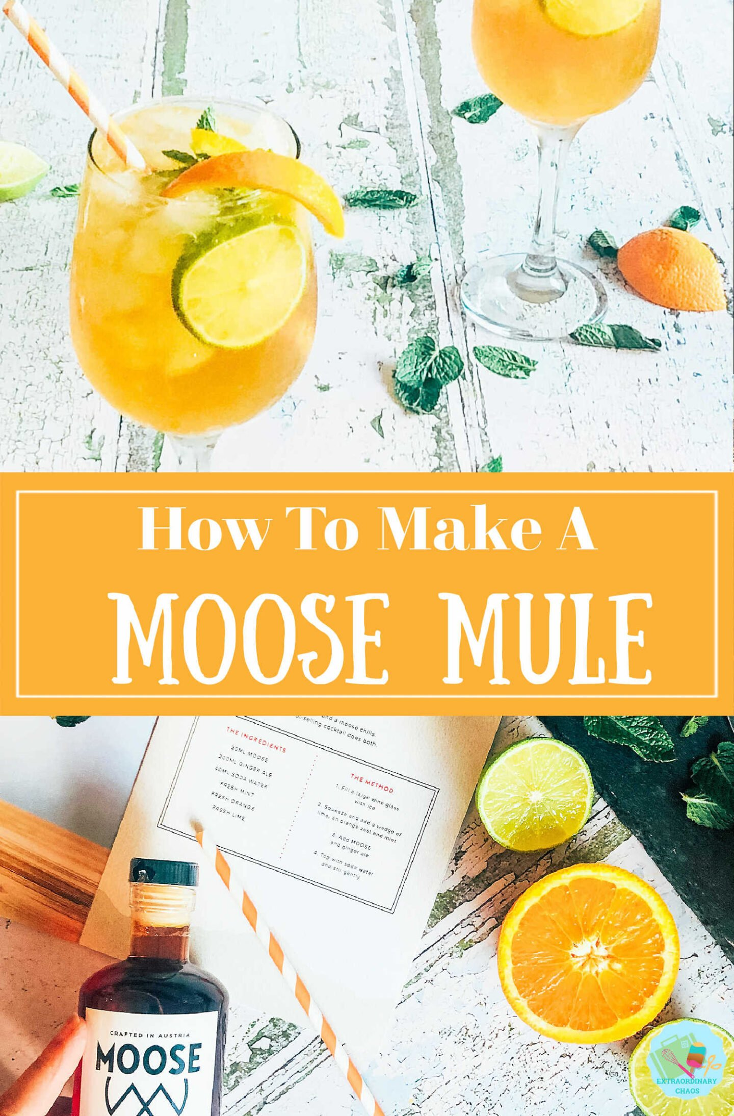 How to make a Moose Mule cocktail