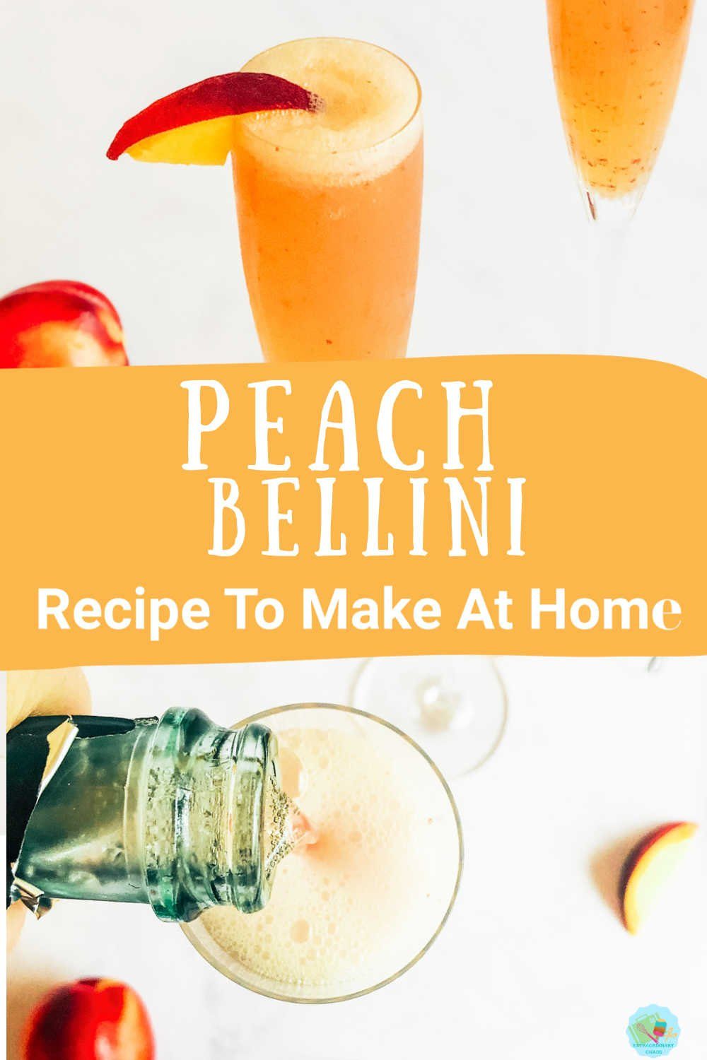 How to make a peach Bellini -3