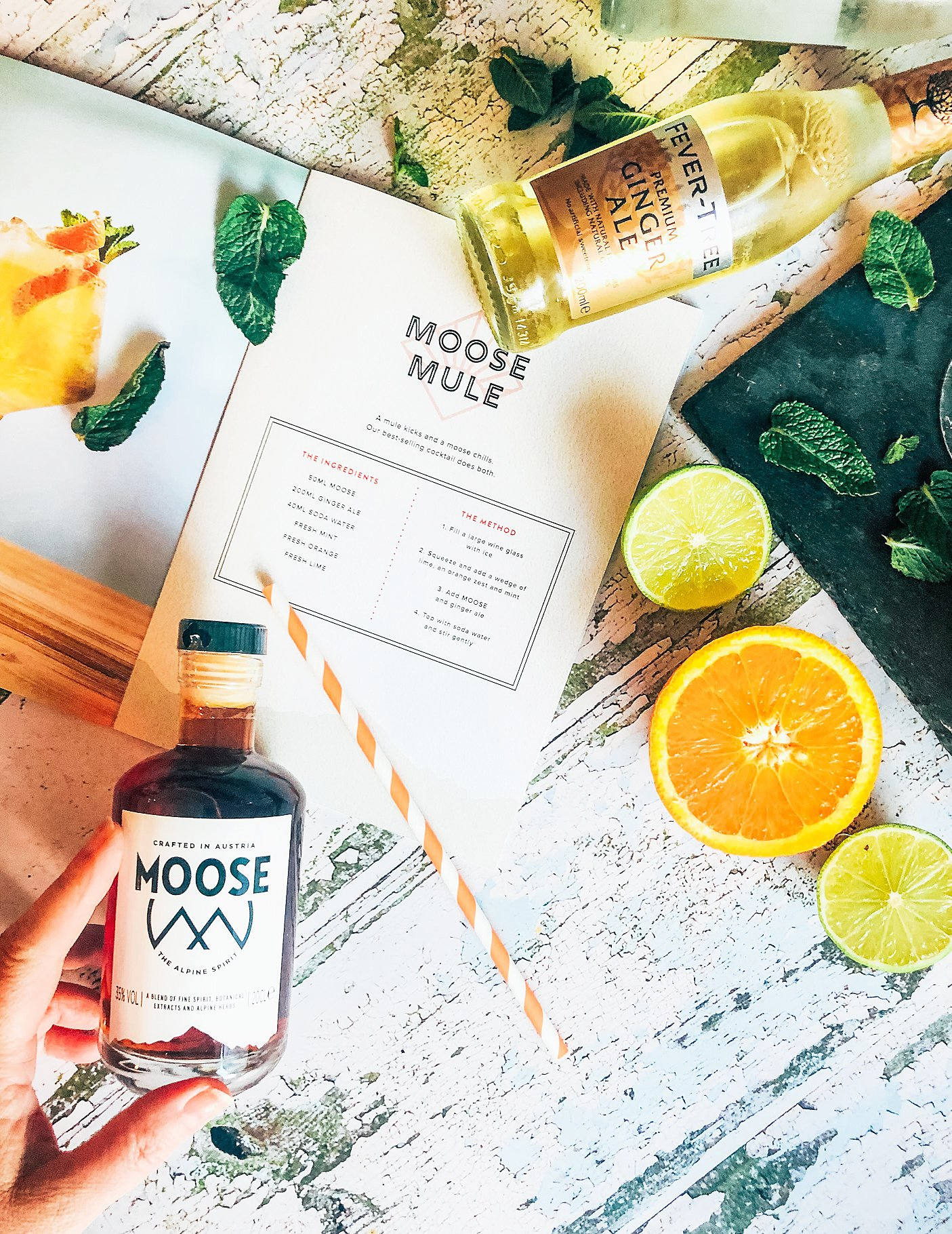 Moose cocktail  recipe