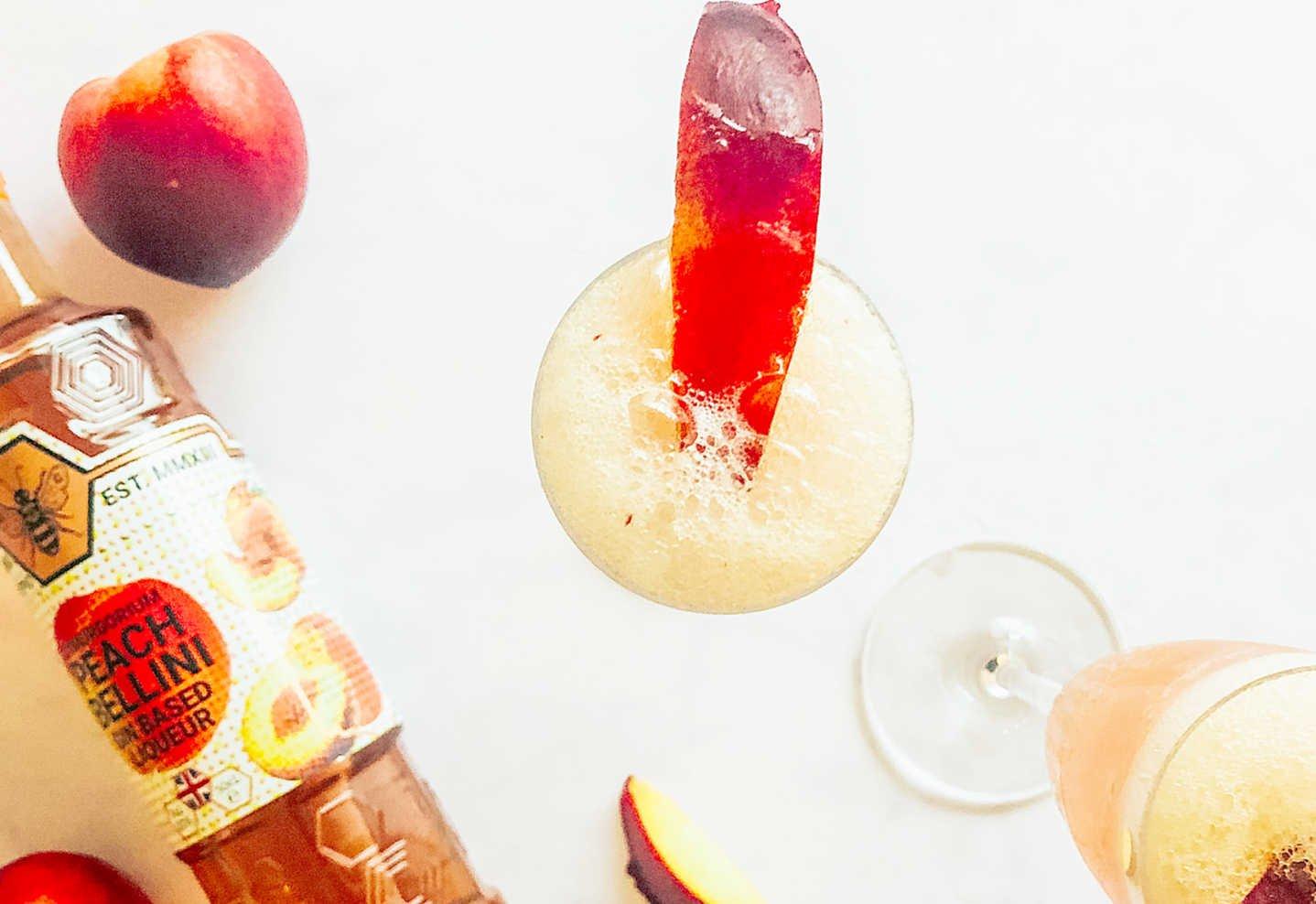 Peach flavoured gin
