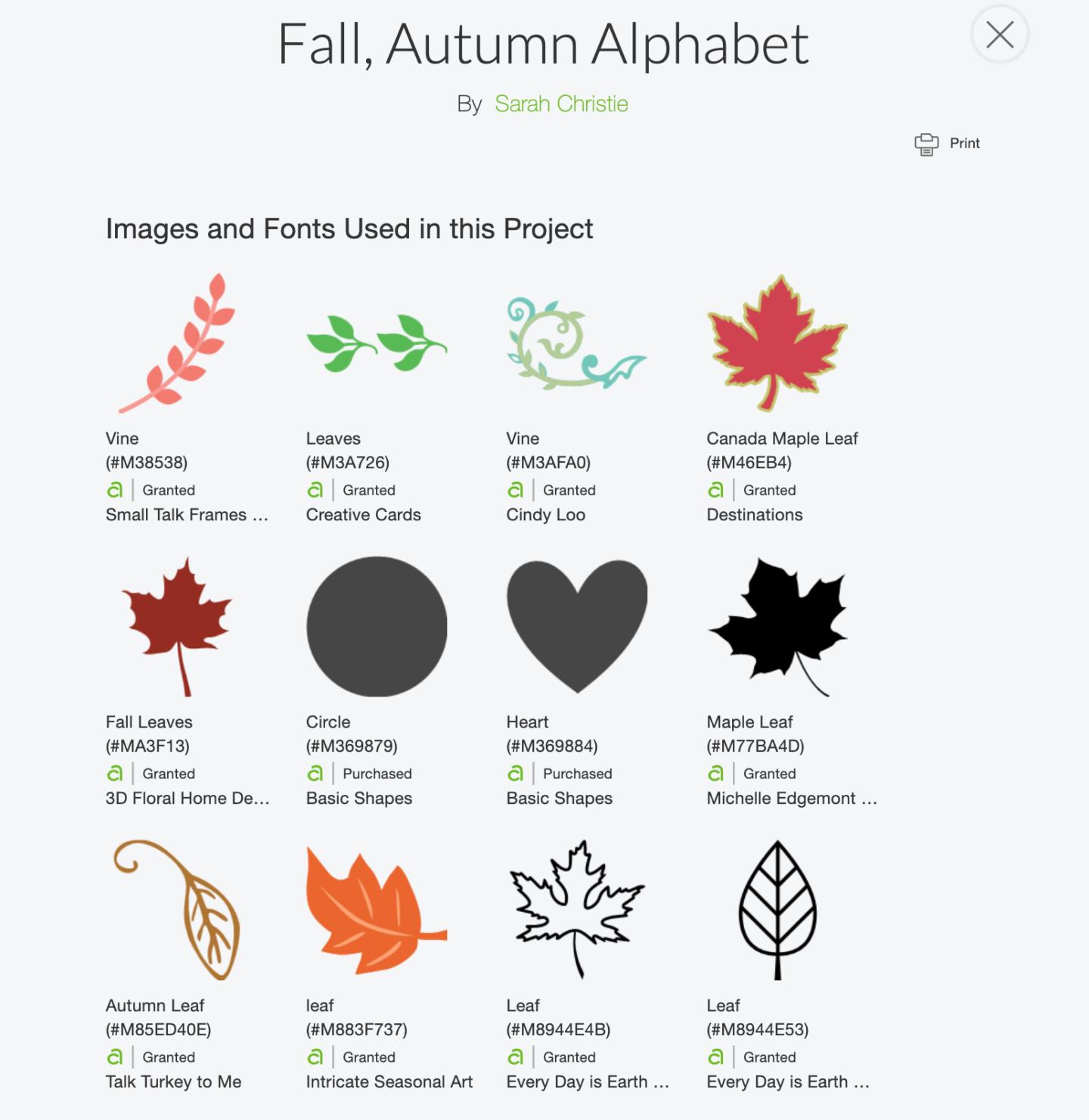 Free Cricut Autumn Alphabet Letters For Paper And Vinyl