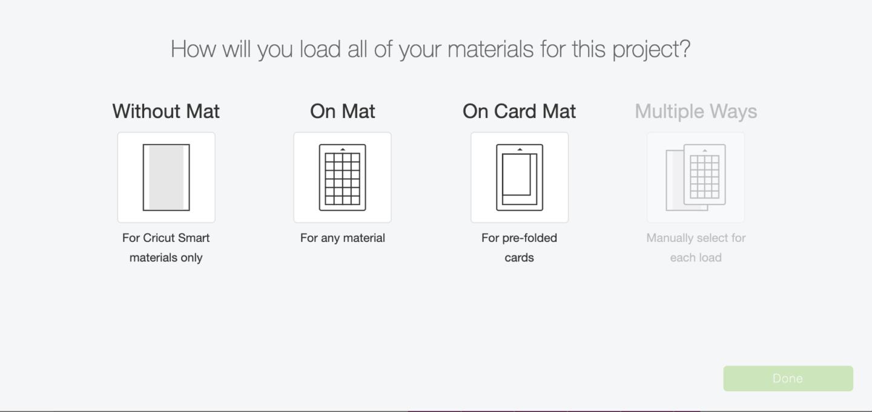 Choosing smart vinyl or matt for the cricut joy