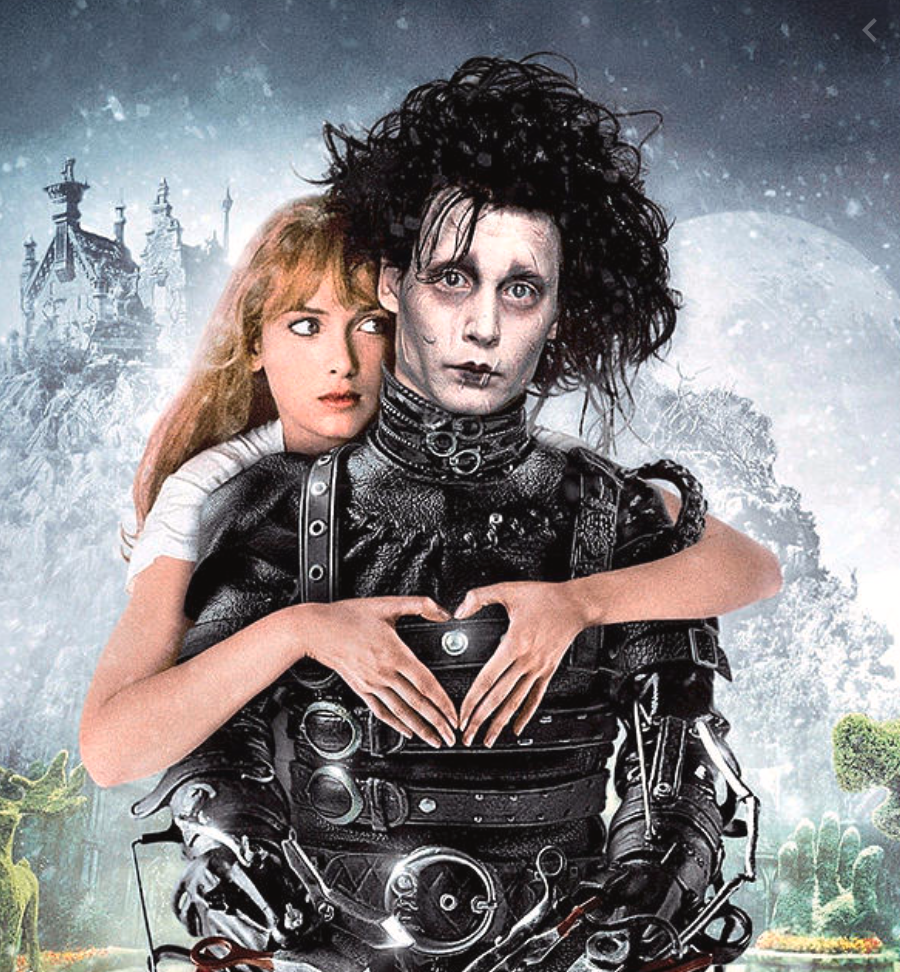 Edward Scissorhands (1991)  for a Halloween Family Movie with teens