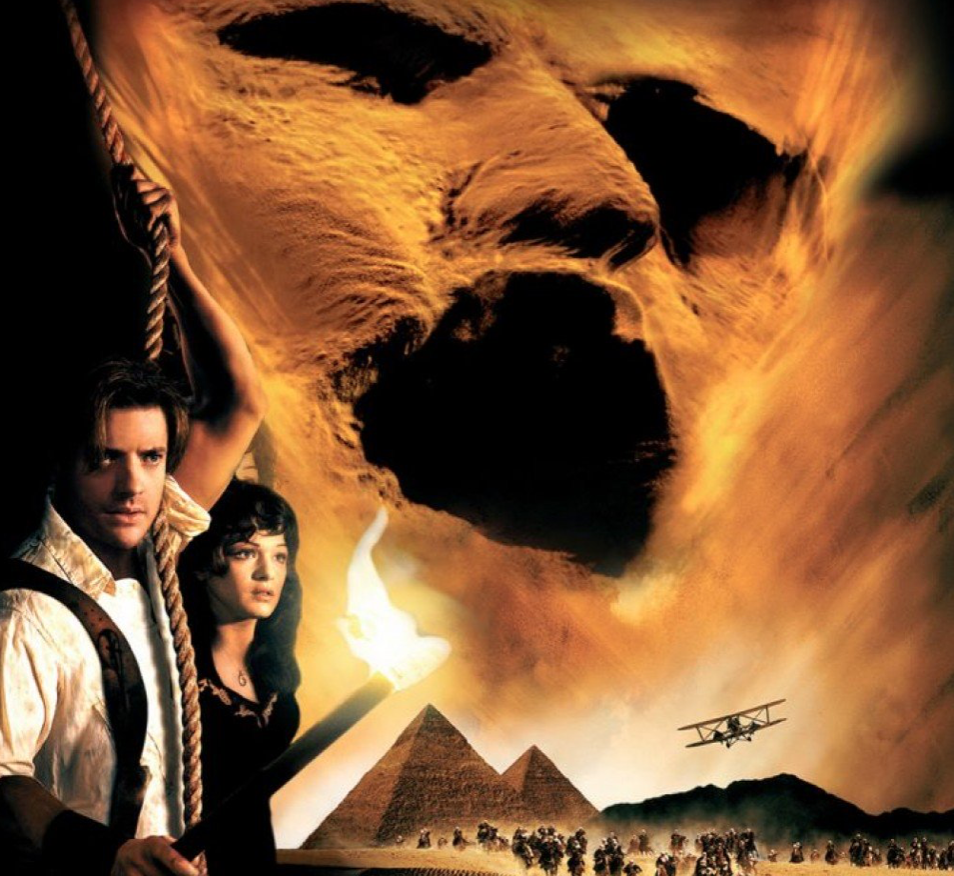 The Mummy (1999), Halloween Movie for older teens