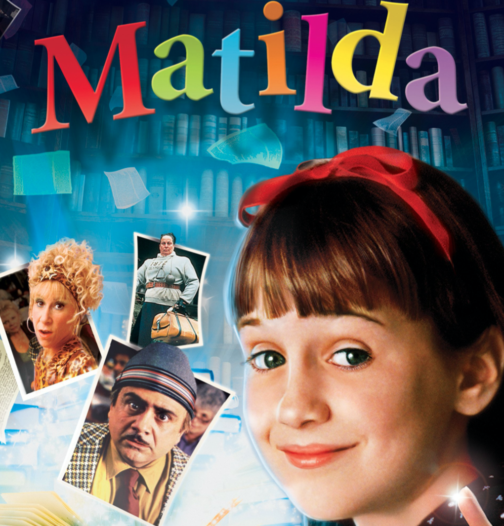 Matilda (Ages 9+) a great magical Halloween Movie for families