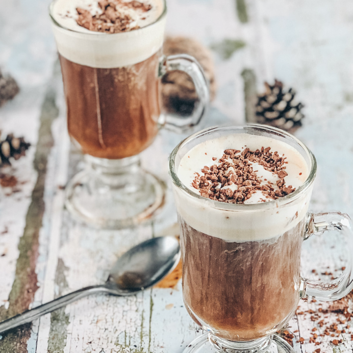 How to make the perfect Irish coffee and get the Cream just right for Christmas festive drinks or after dinner cocktails