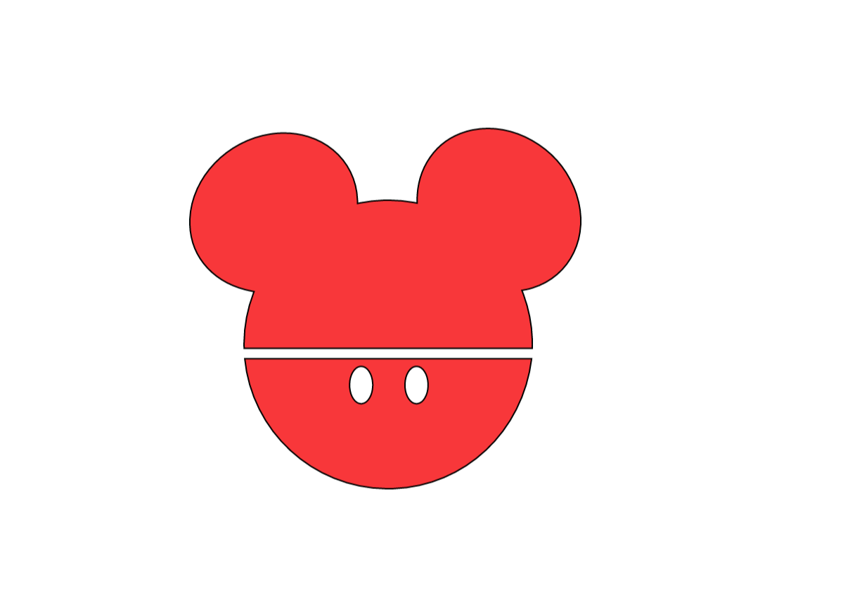 Free Mickey Mouse Decal Cricut Template