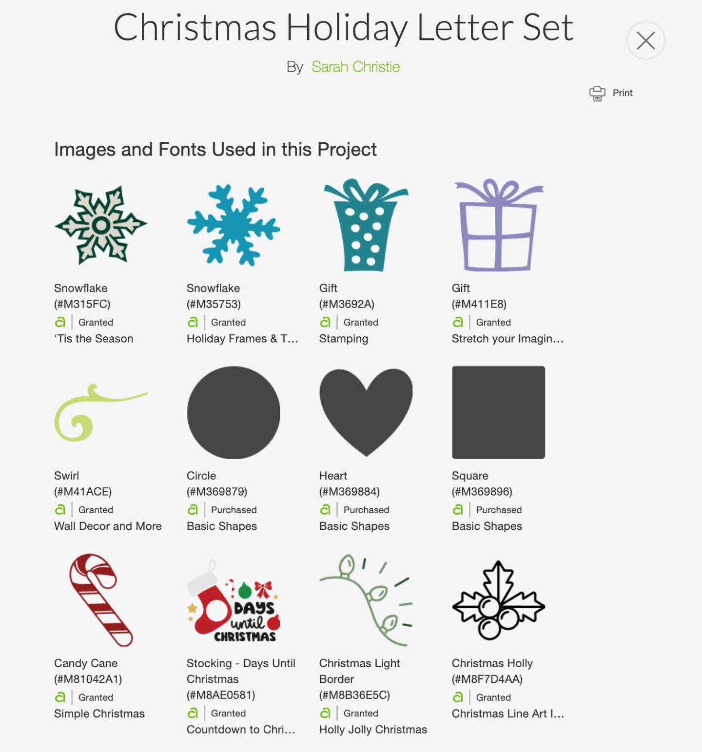 Free Cricut Christmas Holiday Alphabet Letters For Paper And Vinyl