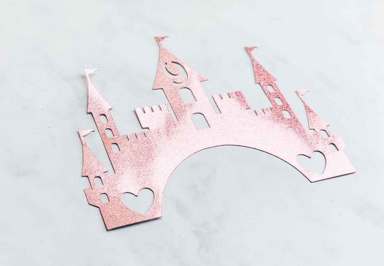 Castle Cake Topper Free PNG Files