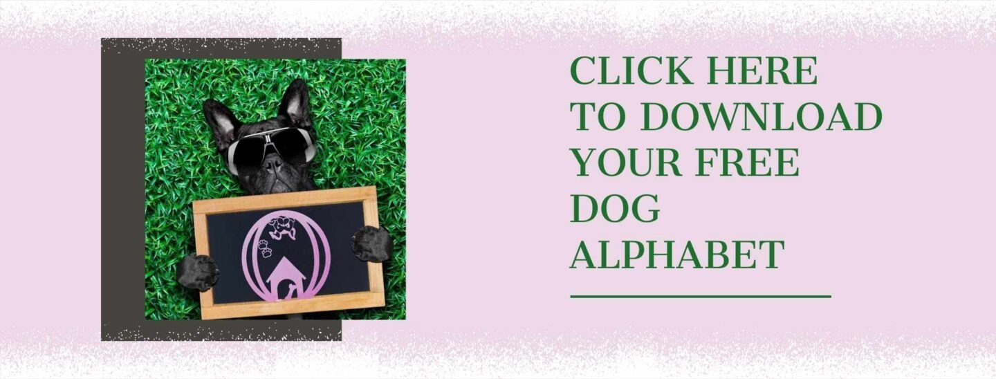 Click to download your free dog alphabet