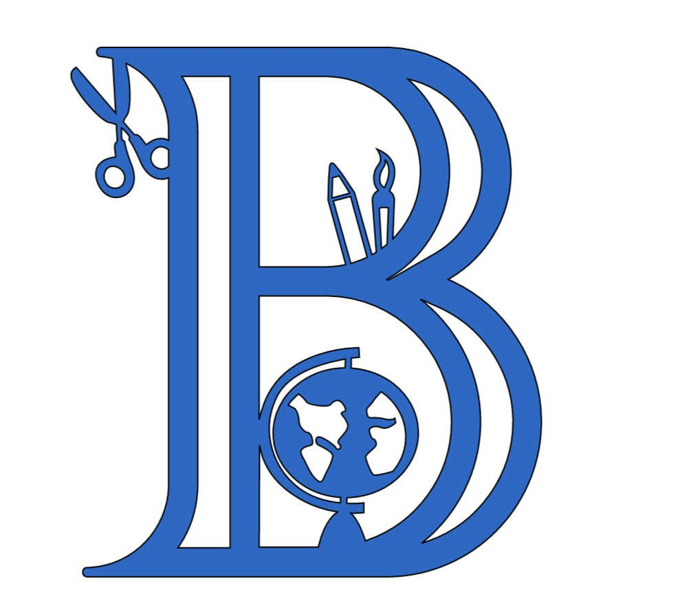 Free Cricut Back To School Alphabet , B