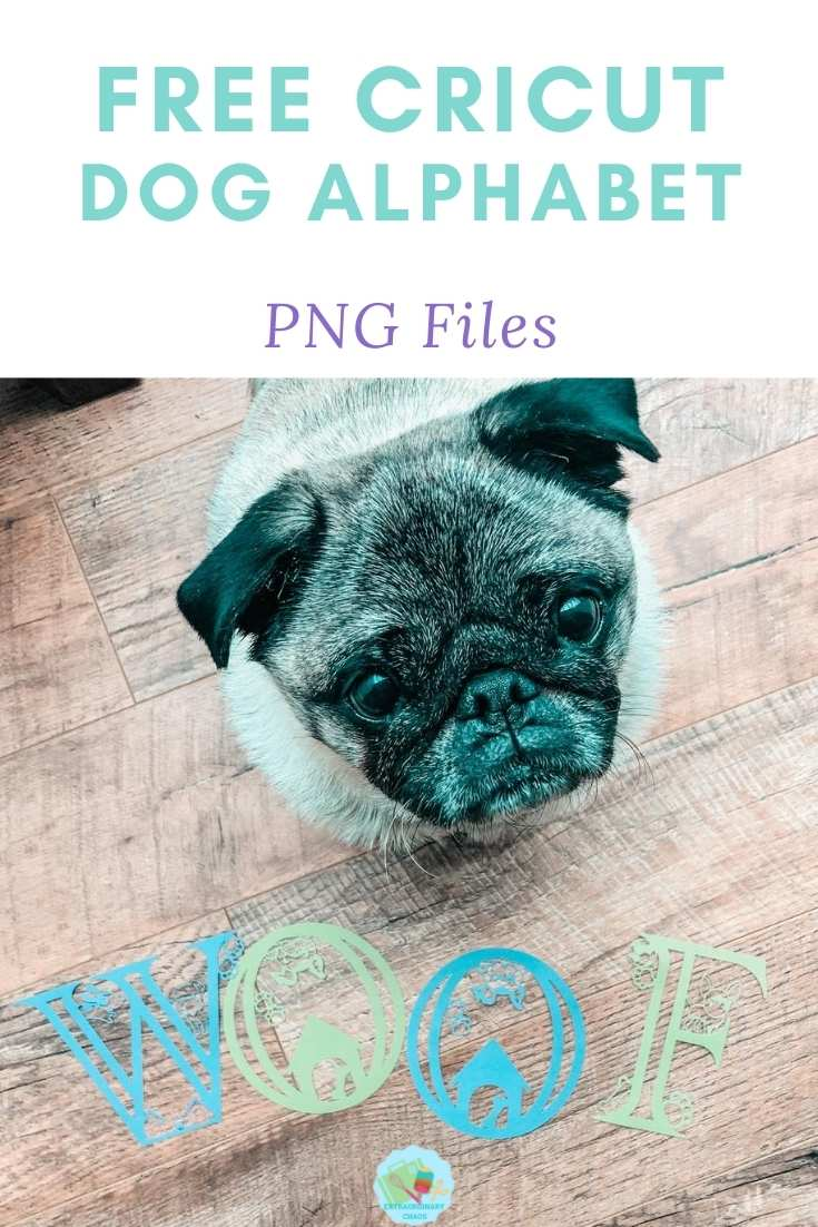 Free Cricut Dog Alphabet PNG Files For Crafting