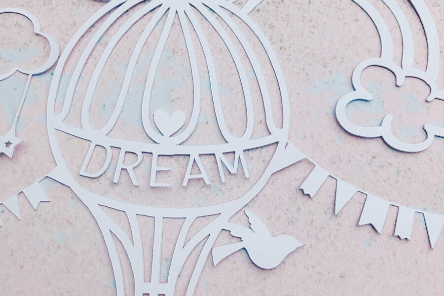 Free Cricut Nursery Paper Cut