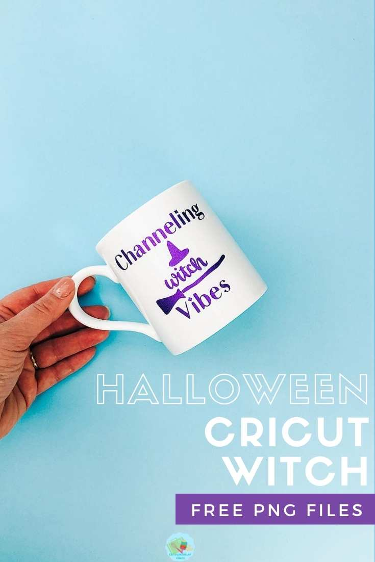 Halloween Cricut Witch Cup Free PNG Files for multiple projects