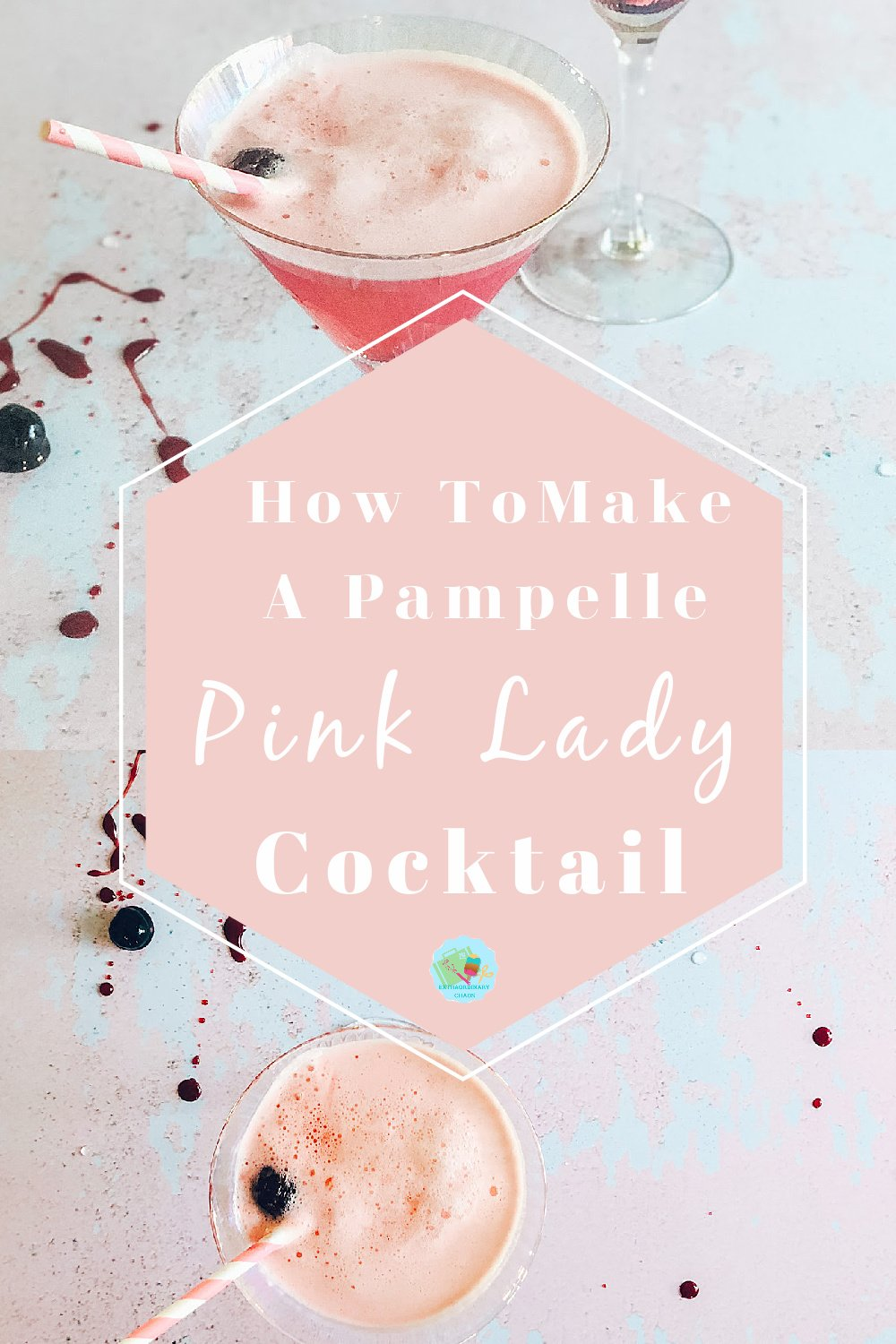 How to make a pink lady cocktail