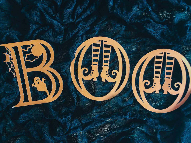 Halloween Alphabet Letters