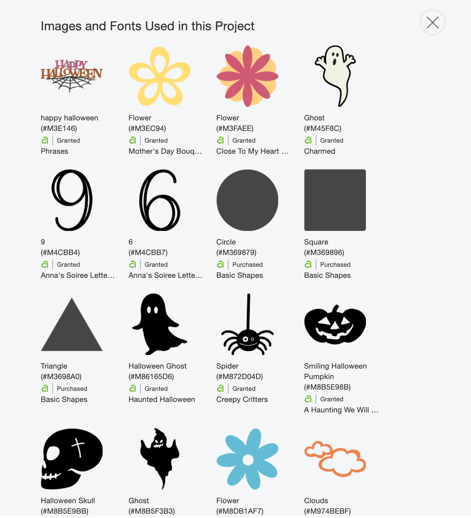 The Images I Used For These Cricut Halloween Numbers And Letters Are….