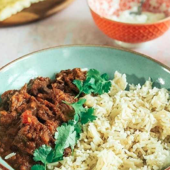 Easy home made slow cooker lamb curry recipe