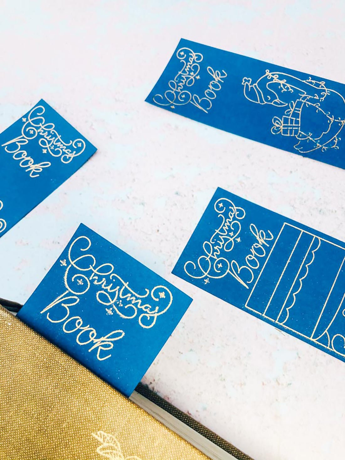 Christmas Bookmarks With Cricut Foiling Tool