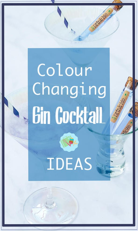Colour changing gin cocktail ideas