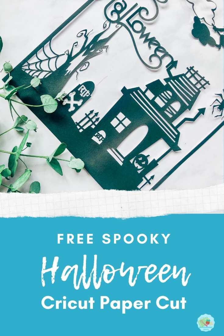 Free Spooky Halloween Paper cut